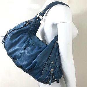 Hype Studs Hobo Leather XL Shoulder Bag